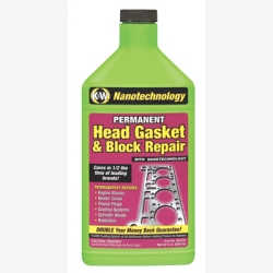 Head Gasket & Block Repair with Nanotechnology, 32 oz Bottle, 6/Case
