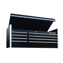 "Extreme Tools 55"" 8-Drawer Top Chest, Black"