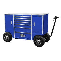 "70"" 7 Drawer/2 Compartment Pit Box, Blue"