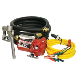 12V DC Portable Pump with Hose and Nozzle