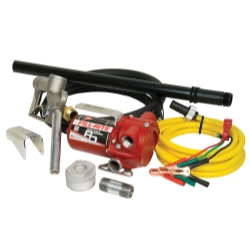 12V DC Bung Mounted Pump with Hose and Nozzle