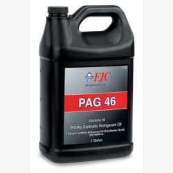 PAG Oil, Refrigerant Oil, Viscosity 46, Synthetic, for R134a Only, Gallon Bottle