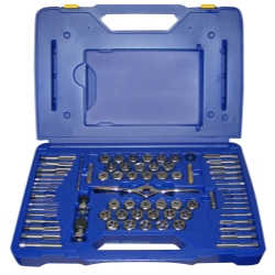 75 Piece Tap and Die Combo Set with PTS Handle
