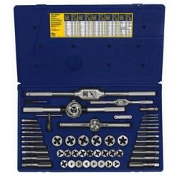 53 Piece Metric Tap and Hexagon Die Set