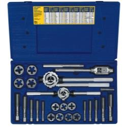 25 Piece Metric Tap and Hex Die Set