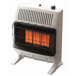 Vent-Free Infrared Gas Heat, 10K BTU, NG