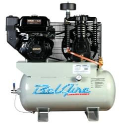 Two Stage Engine-Powered Reciprocating Air Compressor 12HP
