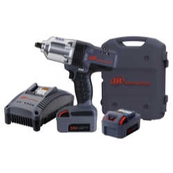 "IQv20 Li-Ion 1/2"" Drive Impact Wrench Kit with Charger and Two Batteries"
