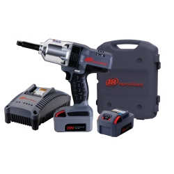 "IQv20 Li-Ion 1/2"" Drive Impact Wrench Kit - Extended Anvil with Charger and Two Batteries"