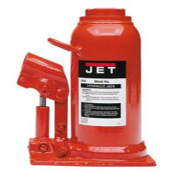 JET JHJ-22-1/2L 22-1/2 Ton Low Profile Hydraulic Bottle Jack (2 Pieces)