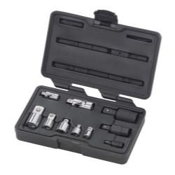 10 Piece Universal and Adapter Socket Set