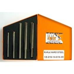 5 Piece Jobber Length Carbide Tip Drill Bit Set