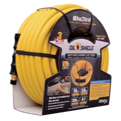 "BluBird Oil Shield 3/8"" x 50' Air Hose, Yellow"