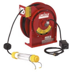 Heavy Duty Reel with 50' Cord and Fluorescent Light