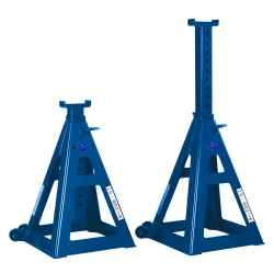 10 Ton Jack Stands, Tall version. (sold in pair)