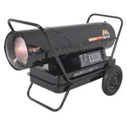 Kerosene Forced Air Portable Heater, 400,000 BTU