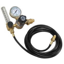 2-Gauge CGA580 Welding Gas Regulator and 10' Hose