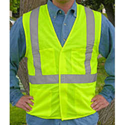 123 Series Velcro Safety Vest