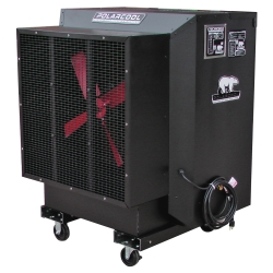 "24"" Black Galvanized Steel Evaporative Cooler"