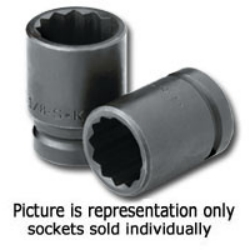 "3/4"" Drive 12 Point Thin Wall Impact Socket 1-13/16"""