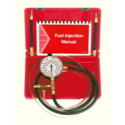 Fuel Injection Pressure Tester with Schrader Adapters