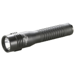 Strion® LED HL Rechargeable Flashlight with AC/DC and 1 Holder