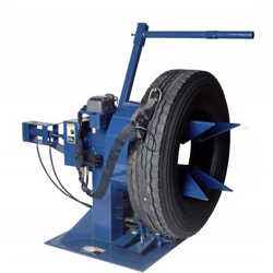 Tire Service Equipment: Tire Grooving Stand