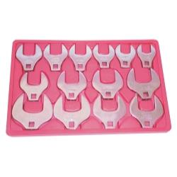 "14 Piece 1/2"" Drive Crowfoot Wrench Set"