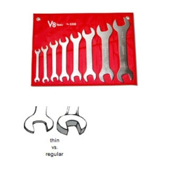 8pc Super Thin Wrench set SAE