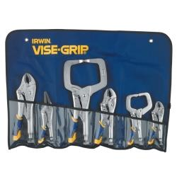 6 Piece Fast Release Locking Plier Set