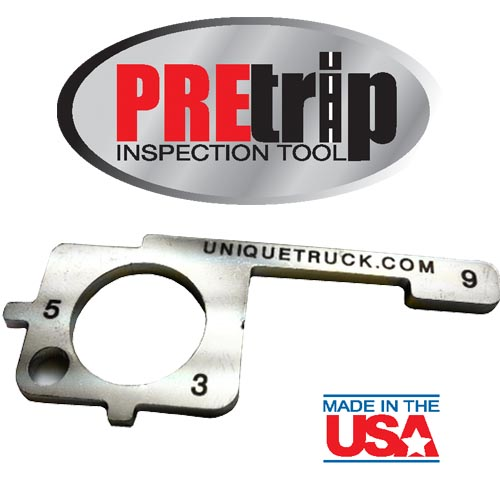 Pre-Trip Inspection Tool with Logo